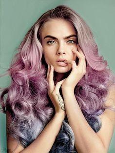 Imagem de model, hair, and cara delevingne