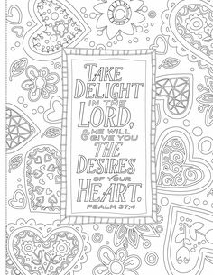 Inspiring Words Coloring Book 30 Verses From The Bible You Can Color