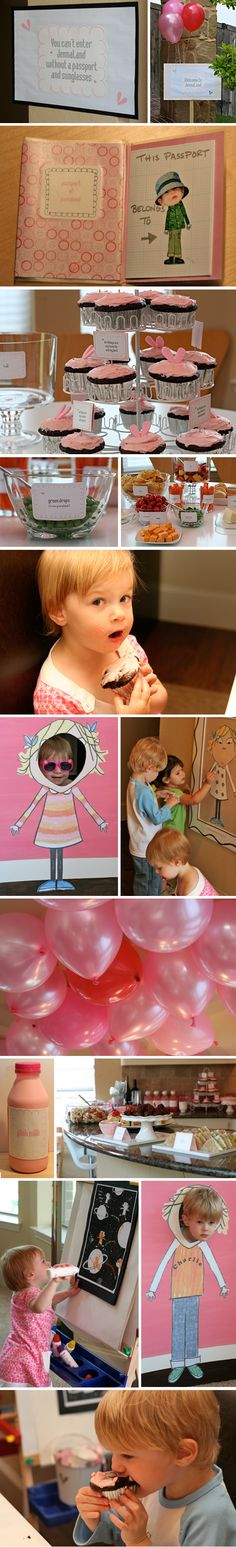 Charlie and Lola party ideas  AlexLand