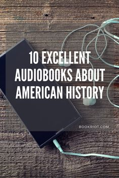 Listen in to these great audiobooks for fans of American History. HAMILTON fans, we're looking at you!