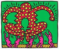 Keith Haring - Fertility #5 (1983)