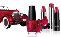 Merle Norman Cosmetics fabulous red!