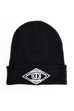 Third eye beanie Shop the look at NYLONshop http://shop.nylonmag.com/collections/whats-new/products/third-eye-beanie