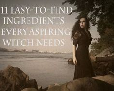 NN 11 Easy-To-Find Ingredients Every Aspiring Witch Needs Wicca Witchcraft, Magick Spells, Eclectic Witch, Hedge Witch, After Life, Practical Magic, Book Of Shadows, Occult, Just In Case