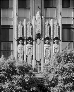 Art Deco Figures Richfield Tower