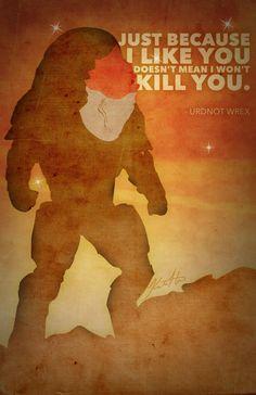 Mass Effect Posters - Wrex by A-negative on deviantART