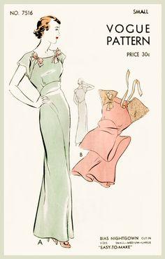 30 ans des années 1930 vintage lingerie par LadyMarloweStudios