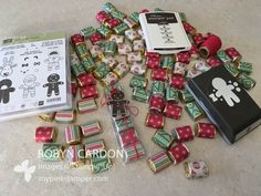 How to make Stampin' Up! Cookie Cutter Christmas  Nugget Treat Bags - Ep...