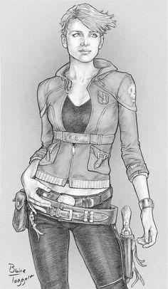 Gunslinger Girl by staino Kinda looks like a girl version of Dean