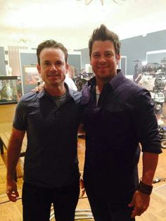 Christian Kane on the set of The Librarians- Added by Bev Zimmerman