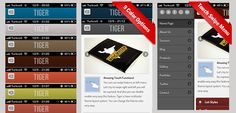 Site Templates - Tiger | jQuery Mobile Web Template & Web App | ThemeForest