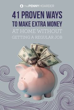 Who really wants to work in an office? These days, you don't really have to. Check out these 41 proven ways to make extra money without getting a real job. - The Penny Hoarder @thepennyhoarder