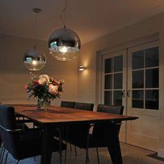Lámpara colgante BALL 40 #iluminacion #interiorismo #lamparayluz