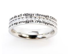 I can do all things through Christ who is my strength - Philippians 4:13