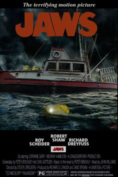 Awesome Jaws movie art finds to note; i think by Lee 'Goatboy' hartnup's board