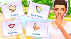 Sims 4 Added Traits Mod! The Sims 4 Pc, Sims Four, Sims 4 Mm Cc, Die Sims 4 Packs, Sims Traits, Sims 4 Cheats, Sims 4 Stories, Sims 4 Anime, Sims 4 Mods Clothes