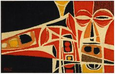 Bill Hinz, Untitled (Jazz Musician), Tapestry