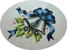 Resultado de imagem para pintura em tecido natal pinterest