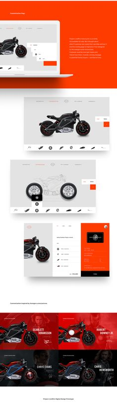 "Check out this @Behance project: ""Harley Davidson - Project Livewire Website Redesign"" https://www.behance.net/gallery/49221945/Harley-Davidson-Project-Livewire-Website-Redesign"