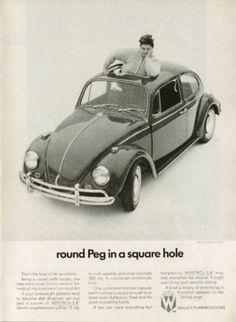 Vintage Volkswagen Ads