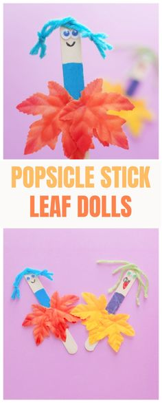 Popsicle Stick Leaf