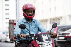 UAE Portrait of a Nation: Delivery man braves heat and traffic for his family
