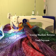 First-Rate Sewing Machine From Fabric To Clothing In Seconds Ideas. Top-notch Sewing Machine From Fabric To Clothing In Seconds Ideas. Long Arm Quilting Machine, Machine Quilting Designs, Quilting Projects, Sewing Projects, Arm Machine, Sewing Machine Repair, Sewing Machine Reviews, Sewing Machines, Longarm Quilting