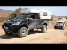 """gazellvidedc - La cellule GaZell"""" double cabine est compacte, esthétique et très légère ! La cellule Gazell est un produit innovant de part son look très fluide que pour son ergonomie De qualité irréprochable, tec... Pickup Camper, Truck Camper, Rv Vehicle, Toyota 4x4, Toyota Fj Cruiser, Trucks, Vehicles, Car, Log Projects"""