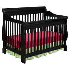 Delta Childrens Products Canton 4 in 1 Convertible Crib, Black - http://activelivingessentials.com/baby-essentials/delta-childrens-products-canton-4-in-1-convertible-crib-black/