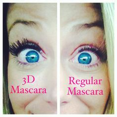 There really is no comparison! Right eye is shown with Mary Kay's Lash Love & Left side is Younique's 3D mascara. Lovvvve it! #younique #3dmascara