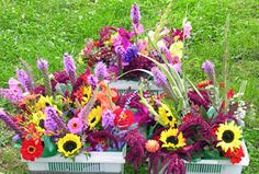 I want to be able to cut bouquets like this from my garden some day.