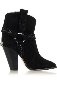 Isabel Marant | Étoile Rawson suede ankle boots | NET-A-PORTER.COM