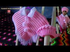 como hacer y poner los flecos al poncho tejido a crochet - YouTube