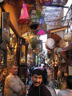 Marokko Souk Basar
