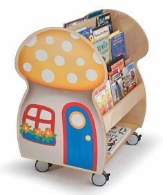 Love this Mushroom House Book Display on #zulily! #zulilyfinds