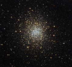 Globular clusters are relatively common in our sky, and generally look similar. However, this image, taken using the NASA/ESA Hubble Space Telescope, shows a unique example of such a cluster — Palomar 2.    Palomar 2 is part of a group of 15 globulars known as the Palomar clusters. These clusters, as the name suggests, were discovered in survey plates from the first Palomar Observatory Sky Survey in the 1950s