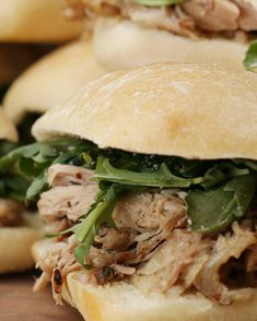 Pulled Porchetta Sandwiches