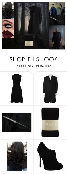 """""""""""Hello Boys"""" Female Crowley Set Pt.1"""" by always-singing ❤ liked on Polyvore featuring Falke"""