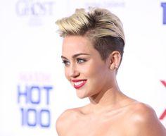 Miley Cyrus dünden bugüne saç modelleri.