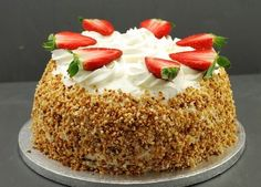 TARTA DE FRESAS Y CHANTILLY DEL MIQUEL Chantilly and strawberries cake Tarte fraises chantilly