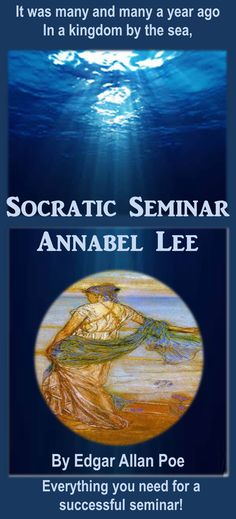 Socratic seminar is an excellent and engaging way for students to practice higher order thinking skills. This 62-slide PowerPoint resource with printables is a Socratic seminar featuring the poem Annabel Lee by Edgar Allan Poe. The resource includes a well-organized protocol for conducting a formal discussion or Socratic seminar based on Poe's poem.