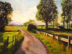 Lane, Evening