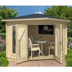 Buy Lasita Maja, Oban 40 Log Cabin Summerhouse x