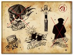 peaky blinder tattoo - Google Search