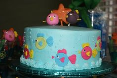 cute cake idea for an under the sea party