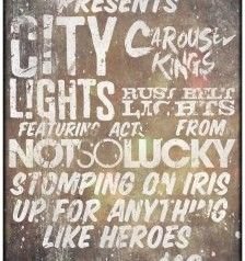 City Lights, Carousel Kings, Not So Lucky, etc. You in?