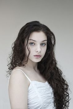 Odeya Rush is sort of how I see Nadia, although she, too, is young