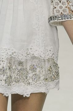 lace and beading for summer