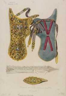 cases that carried both bow and arrows were called gorytoi and were typically carried on the left hand side of the warrior. Article details multiple examples and details their use (pre-islamic Persian)