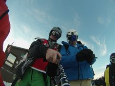 Me and my friend shredding